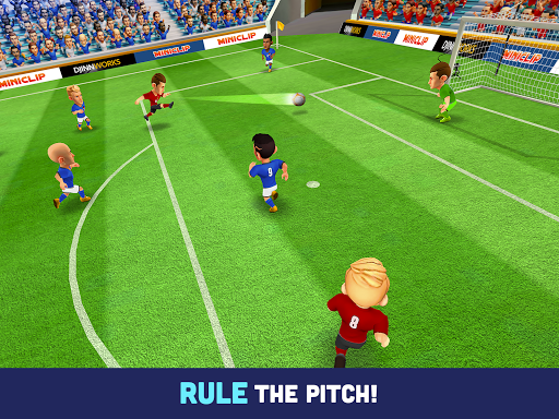 Mini Football - Mobile Soccer android2mod screenshots 9