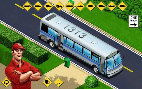 Kids Vehicles  City Trucks  Buses  puzzle toddler Apk Download 5