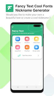 Fancy Text - Cool Fonts & Nickname Maker