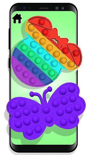 Fidget Toys Calming Games Sensory kit anti anxiety  screenshots 1