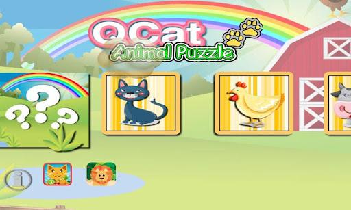 QCat Animal Puzzle (Free) 2.5.1 screenshots 1
