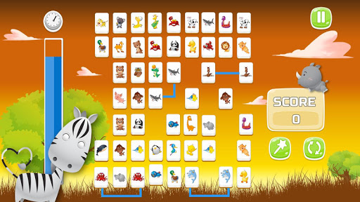 Connect Animals : Onet Kyodai (puzzle tiles game)  screenshots 4