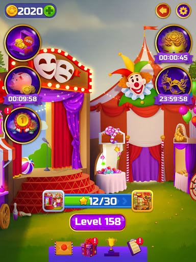 ud83cudfaaCircus Words: Free Word Spelling Puzzle  screenshots 10