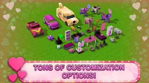 Girls Theme Park Craft: Water Slide Fun Park Games  Screenshots 9