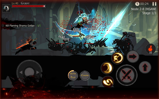 Shadow of Death: Dark Knight - Stickman Fighting 1.95.2.0 screenshots 14