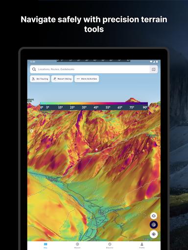 FATMAP: Hike, Bike, Ski Trails - 3D Outdoor Maps apktram screenshots 13
