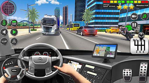 Bus Driving Simulator Games : Coach Parking School 1.7 screenshots 11