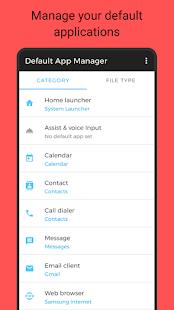 Default App Manager Screenshot