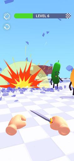 Hit Tomato 3D: Knife Throwing Master screenshots 3