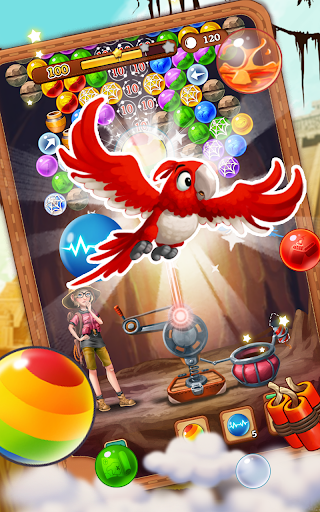 Bubble Journey -  Bubble shooter & Adventure story android2mod screenshots 10