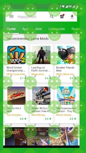 Happy Mod screenshot 1