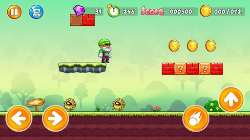 Super Pino Go : Jungle Man Adventure APK MOD (Astuce) screenshots 5