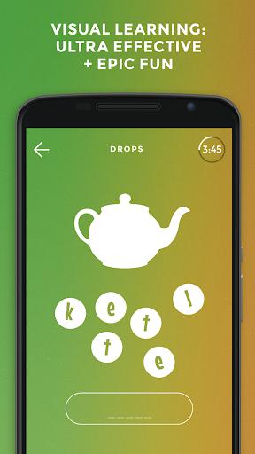 Drops: Learn Russian. Speak Russian. android2mod screenshots 1