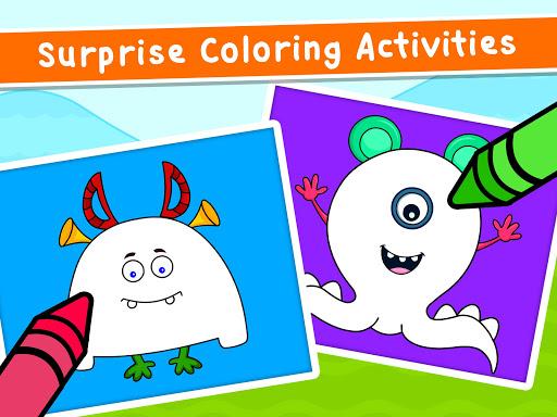 Coloring Games for Kids - Drawing & Color Book Apkfinish screenshots 13