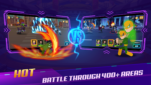 Stickman Super Heroes - Stick Battle Arena Fight screenshots 7