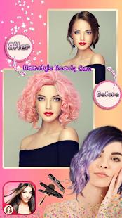 Hairstyle Camera Beauty : Hair Changer Photo Edit 1.2 Screenshots 14