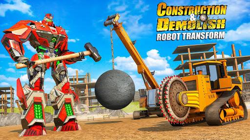 construction & demolish robot: robot games screenshot 1