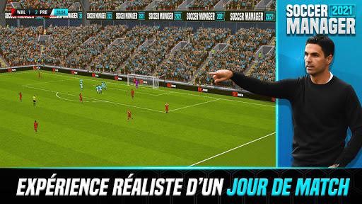 Soccer Manager 2021 - Jeu de Gestion de Football APK MOD (Astuce) screenshots 1