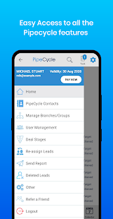 PipeCycle FREE CRM - Sales & Lead management app