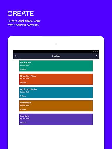 Mixcloud - Radio & DJ mixes android2mod screenshots 8