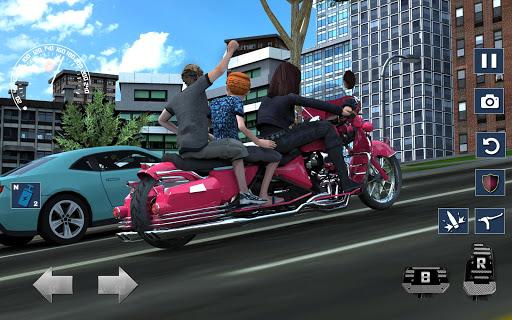 Bus Bike Taxi Driver u2013 Transport Driving Simulator  screenshots 3