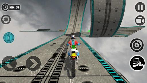 Impossible Motor Bike Tracks New Motor Bike  screenshots 1