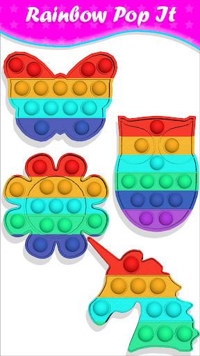 pop it Fidget Cubes calming sounds making toys 1.0.9 screenshots 9