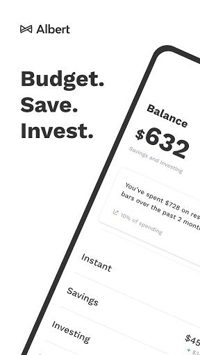 Albert: Budget. Save. Invest.  screenshots 1