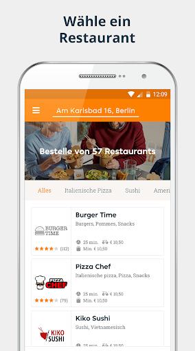 pizza.de | Food Delivery 6.20.0 screenshots 1