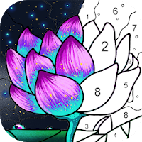 Paint By Number - Coloring Book & Color by Number