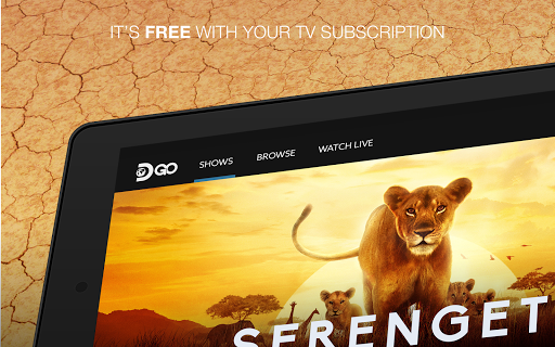 Foto do Watch with TV Subscription - Discovery GO
