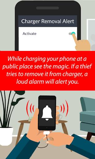 Phone Anti-Theft Alarm screenshots 1