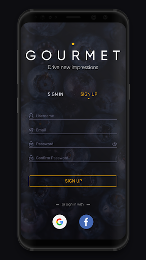 WARP Gourmet  screenshots 2