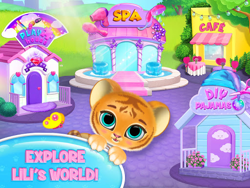 Baby Tiger Care - My Cute Virtual Pet Friend modavailable screenshots 11