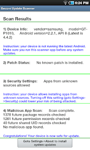 Secure Update Scanner 5