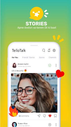 Tellotalk : Pakistan Ka Apna Messenger apktram screenshots 5
