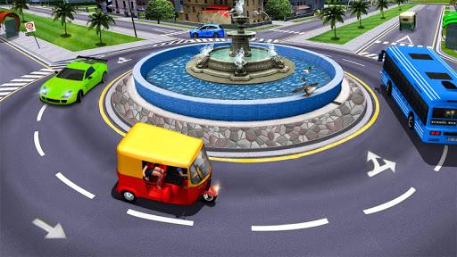 Modern Tuk Tuk Auto Rickshaw: Free Driving Games 1.7 screenshots 6