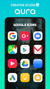 Aura Icon Pack - Rounded Square Icons Screenshot