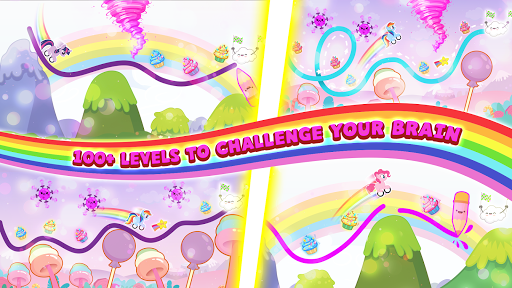 Pony Go : Drawing Race - Rainbow Paint Lines 1.1.5 screenshots 4