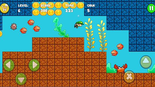 تحميل لعبة Super Bob's World : Free Run Game مهكرة 2