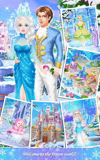 Princess Salon: Frozen Party  Screenshots 2
