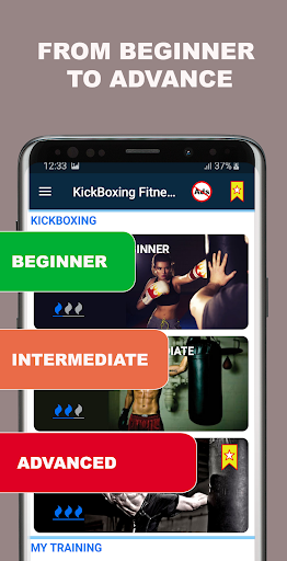 Kickboxing Fitness Trainer - Lose Weight At Home  Screenshots 15