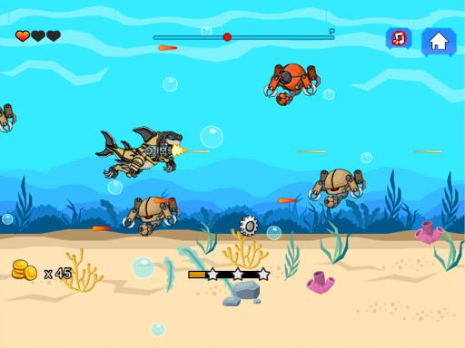 Robot Shark Attack 2.5 screenshots 6