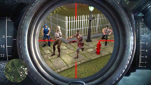 Mad Zombie Shooter Strike - Offline Shooting Games apkmartins screenshots 1
