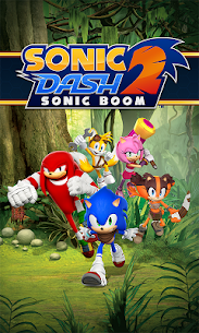 Sonic Dash 2: Sonic Boom Mod Apk (Unlimited Money) 1
