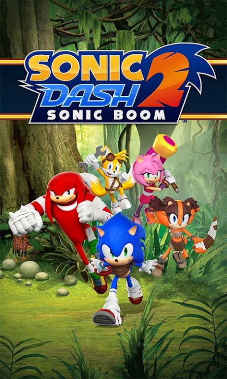 Sonic Dash 2: Sonic Boom poster 0