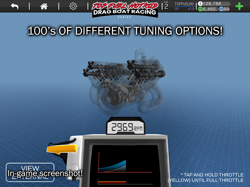 Top Fuel Hot Rod - Drag Boat Speed Racing Game 1.12 screenshots 16