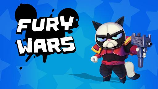 Fury Wars - online shooting game, third person. 3.0.2 screenshots 1