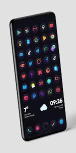 Hera Dark Icon Pack – Circle Shaped Dark Icons (MOD, Paid) v4.0 3