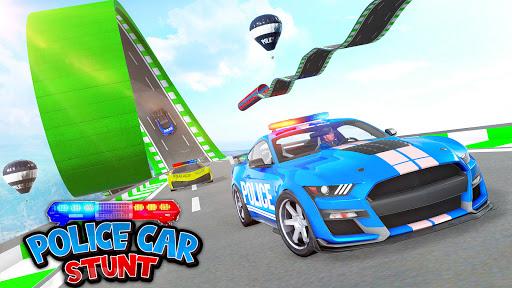 Police Car Stunt: Mega Ramps 2.1 screenshots 7